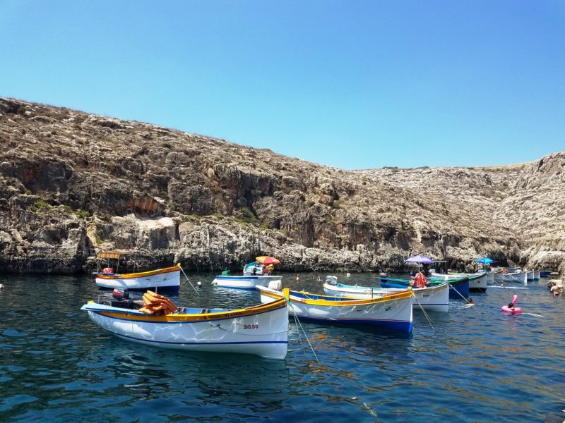 Day 2: Dingli Cliffs, Falcons, Ancient Temples, the Blue Grotto, and Mdina